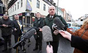 Police link Northern Ireland car bombing to 'New IRA'