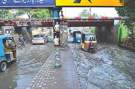 Rain cripples life, water and power networks in Sindh