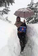 Vaccinators complain of difficulties in snowbound areas