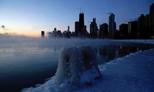امریکا میں منفی 50 ڈگری کی سردی محسوس ہونے لگی