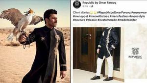 SFK Bridals accuses Republic Menswear of plagiarism