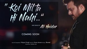 Ali Haider's new single will be a ghazal with a twist