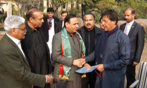 Former APML chairman Dr Amjad joins PTI