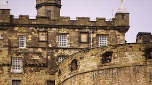 Touring the majestic Edinburgh Castle in Scotland