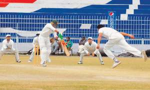 Ehsan, Waqas give Faisalabad early honours in final
