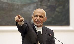 افغان امن عمل کے دوران اشرف غنی اپنے اختیارات کی واپسی کے خواہشمند