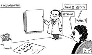 Cartoon: 10 February, 2019