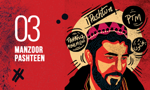 Manzoor Pashteen: Leading the fringe to the centre