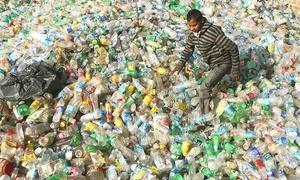 پلاسٹک کے تھیلوں کا استعمال ترک کرنے کے منصوبے کا اعلان