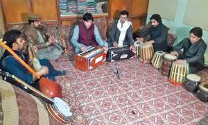 Music group enriching Pashto orchestra with new instruments