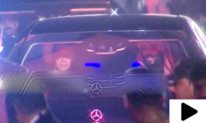 جب وزیراعظم عمران خان نے سعودی ولی عہد کی گاڑی خود چلائی