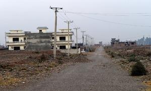 Why a housing scheme in Peshawar is being delayed