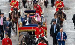 In pictures: Pakistan pulls out all the stops to welcome Saudi crown prince