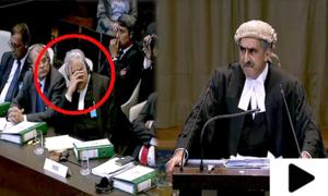 کلبھوشن کیس: پاکستانی وکیل کے دلائل پر بھارتی وکیل پریشان