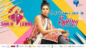 'Game of lawns' kicks off at Packages Mall in Lahore