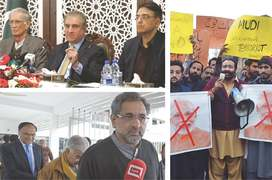 Govt, opposition denounce India with one voice
