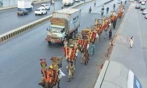 Ghalib Quarters in Karachi