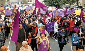 Aurat March displays street power