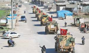 Turkey, Russia begin patrols in Syrian province
