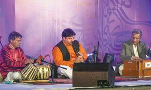 Ragas and the clarinet