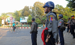 9 policemen killed in attack in Myanmar's Rakhine