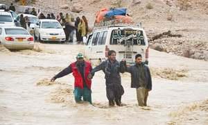 Fresh rains cut off Quetta from several towns