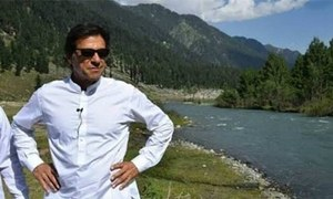 خیبر پختونخوا میں جنگلات کے رقبے میں 4 فیصد اضافہ ہوا، عمران خان