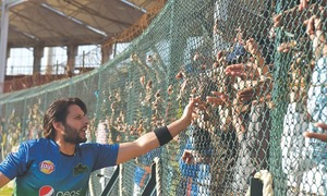 Pakistan shouldn't rush youngsters into national side: Afridi