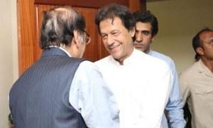 Imran, Shujaat discuss coalition matters