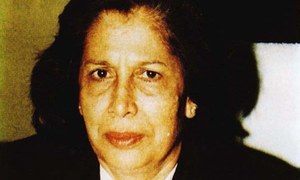 """""""A woman judge would perhaps be more understanding of a woman petitioner's problem"""" - Majida Razvi"""