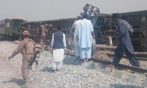 4 killed in Balochistan railway track blast: police
