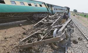 Four killed as railway track blown up