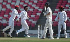Rashid takes five, Afghanistan set 147 to win maiden Test