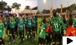 پاکستان کے ننھنے فٹبالرز نے دنیا میں ملک کا پرچم بلند کردیا