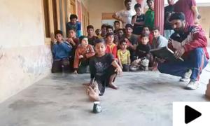 9 سالہ پاکستانی بچے نے بھارتی کھلاڑی کا عالمی ریکارڈ توڑ دیا