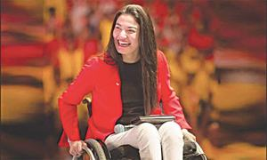 Muniba Mazari: A picture of fortitude
