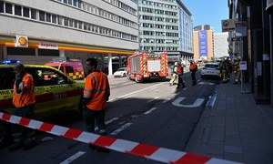 Brussels area close to European Union headquarters cleared after bomb alert