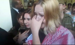 Lahore court sentences Czech model to 8 years, 8 months in jail for smuggling narcotics