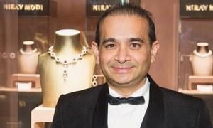 مفرور بھارتی ارب پتی جیولر نیرو مودی لندن میں گرفتار