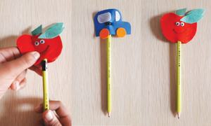 Wonder Craft: Pencil toppers