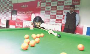 Asif stunned as National Snooker cues off