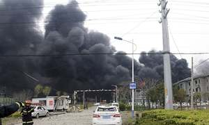 6 dead, dozens injured as blast rocks China chemical plant