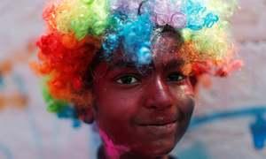 پاکستان سمیت دنیا بھر میں رنگوں کا تہوار 'ہولی'