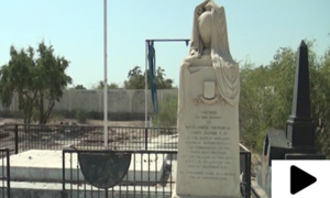 بانی جیکب آباد برگیڈئیر جان جیکب کی قبر زبوں حالی کا شکار