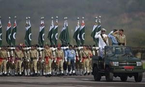 یوم پاکستان پریڈ: 'ترقی یافتہ پاکستان شہدا، غازیوں کیلئے بہترین خراجِ تحسین ہوگا'