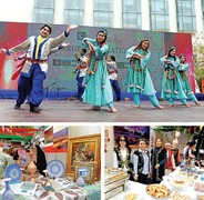 Nowruz celebrations marked by exotic food, music