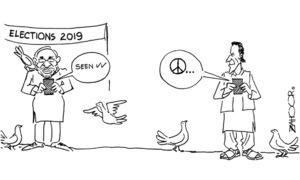 Cartoon: 25 March, 2019