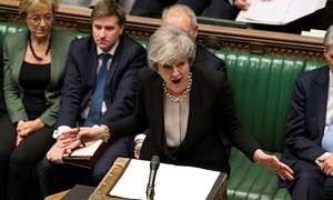 May faces heavy pressure to step down to save Brexit