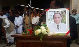 Memorial held for Bahawalpur professor allegedly killed by student