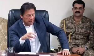 PM Khan chairs high-level meeting on internal security, FATF action plan